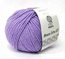 Мерино Экстра 125 (Merino Extra 125 - Profil) 340 сиренево-фиолетовый светлый