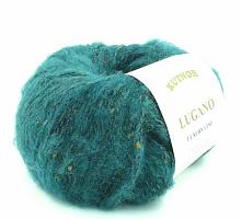 Пряжа Lugano (Лугано) 92326 темно-бирюзовый