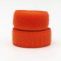 Лента контактная (липучка) оранжевая, 25 мм