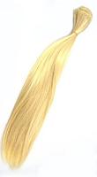 Трессы прямые, длина 30 см, цвет блондин