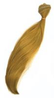 Трессы прямые, длина 30 см, цвет золотисто-русый