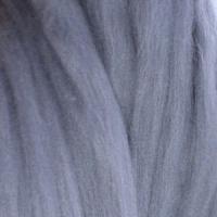 Пряжа LG_Wool (ЛГ Шерсть) для валяния 100% шерсть 100 г  0056 стальной