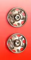 Кнопки пришивные 20,9 мм., 2 шт. никель