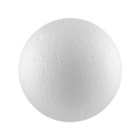 Шар из пенопласта,фактурный d 4 см