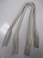 Ручки сумочные готовые белые, 65см