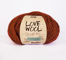 Пряжа Love Wool, цвет 114 терракот