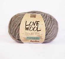 Пряжа Love Wool, цвет 102 серо-бежевый
