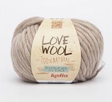 Пряжа Love Wool, цвет 119 бежевый