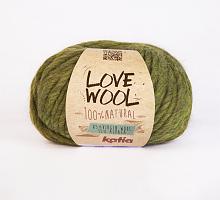 Пряжа Love Wool, цвет 113 фисташковый