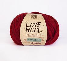 Пряжа Love Wool, цвет 115 красный
