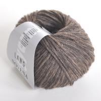 Пряжа Novena with Baby Alpaca цвет 0039 серо-коричневый меланж