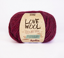 Пряжа Love Wool, цвет 116 фуксия
