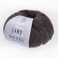 Пряжа Novena with Baby Alpaca цвет 0068 темно-коричневый