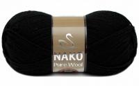 Пряжа Nako Pure Wool (Пур вул), цвет 217