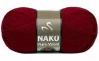 Пряжа Nako Pure Wool (Пур вул), цвет 6814