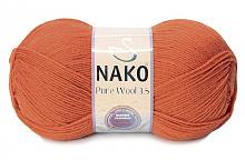 Пряжа Nako Pure Wool (Пур вул), цвет 6963
