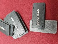 Нашивка пришивная иск.кожа FASHION 3 штуки