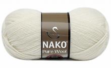 Пряжа Nako Pure Wool (Пур вул), цвет 208