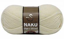 Пряжа Nako Pure Wool (Пур вул), цвет 2378