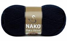 Пряжа Nako Pure Wool (Пур вул), цвет 2418
