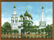 """Рисунок на канве 37х49см арт.707 """"Ярославль"""""""