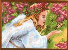 "Рисунок на канве 37х49см арт.623 ""Ангел"""