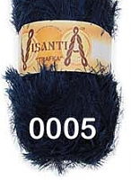 Visantia «TRAFKA» 100 % полиэстер  № 0005 синий