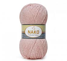 Пряжа Natural Bebe (Бебе натурал), цвет 11620 темная пудра