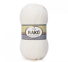 Пряжа Natural Bebe (Бебе натурал), цвет 208 белый