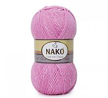 Пряжа Natural Bebe (Бебе натурал), цвет 10312 ярко-розовый