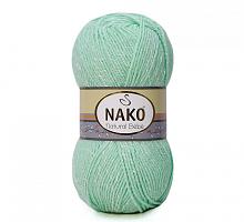 Пряжа Natural Bebe (Бебе натурал), цвет 11623 зеленая бирюза