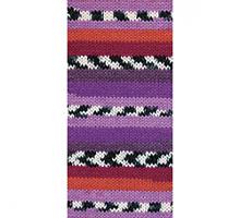 Пряжа Boho (Бохо) цвет 81253 красно-фиолетовый