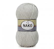 Пряжа Natural Bebe (Бебе натурал), цвет 4787 светло-серый