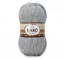 Пряжа Super Inci Hit Tweed цвет 195 светло-серый