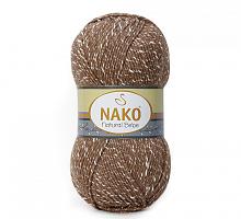 Пряжа Natural Bebe (Бебе натурал), цвет 3678 коричневый