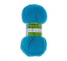 Пряжа ALPINA Klement цвет 17 ярко-голубой