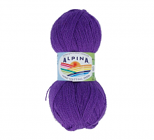 Пряжа ALPINA Klement цвет 29 яр.фиолетовый
