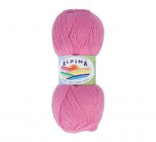 Пряжа ALPINA Klement цвет 26 яр.розовый