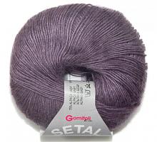 Пряжа Сетал (Setal), цвет 0010 лиловый