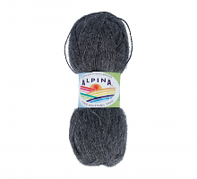 Пряжа ALPINA Klement цвет 08 серый