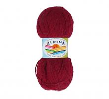 Пряжа ALPINA Klement цвет 04 бордовый