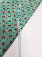 Кружево хлопковое 7 мм, голубое