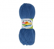 Пряжа ALPINA Klement цвет 06 джинсовый
