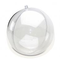 Заготовка для декупажа, сфера с перегородкой (шарик), 100 мм