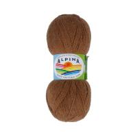 Пряжа ALPINA Klement цвет 18 коричневый