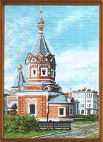 "Рисунок на канве 37х49см арт.772 ""Часовня Александра Невского"""