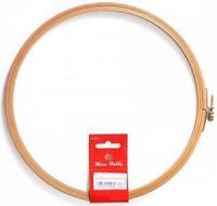 Пяльцы круглые с замком, высота обода 8 мм, диаметр 18,5 см