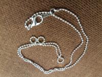 Цепочка для подвески серебро