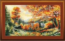 "Набор для вышивания арт.СС-1314 ""Багряная осень"" 41х23 см"