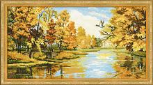 """Набор для вышивания арт.СС-1334 Б """"Тихая осень"""" 42х23 см"""